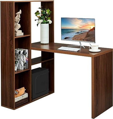 Computer Corner Desk Home Office Workstation