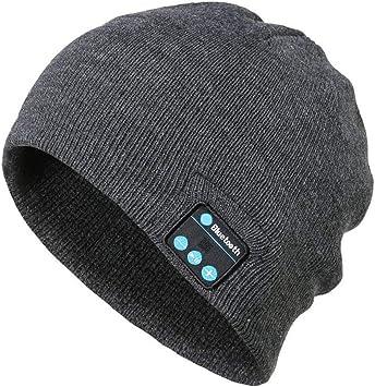 Gorro de música inalámbrico Bluetooth Gorras Inteligentes ...