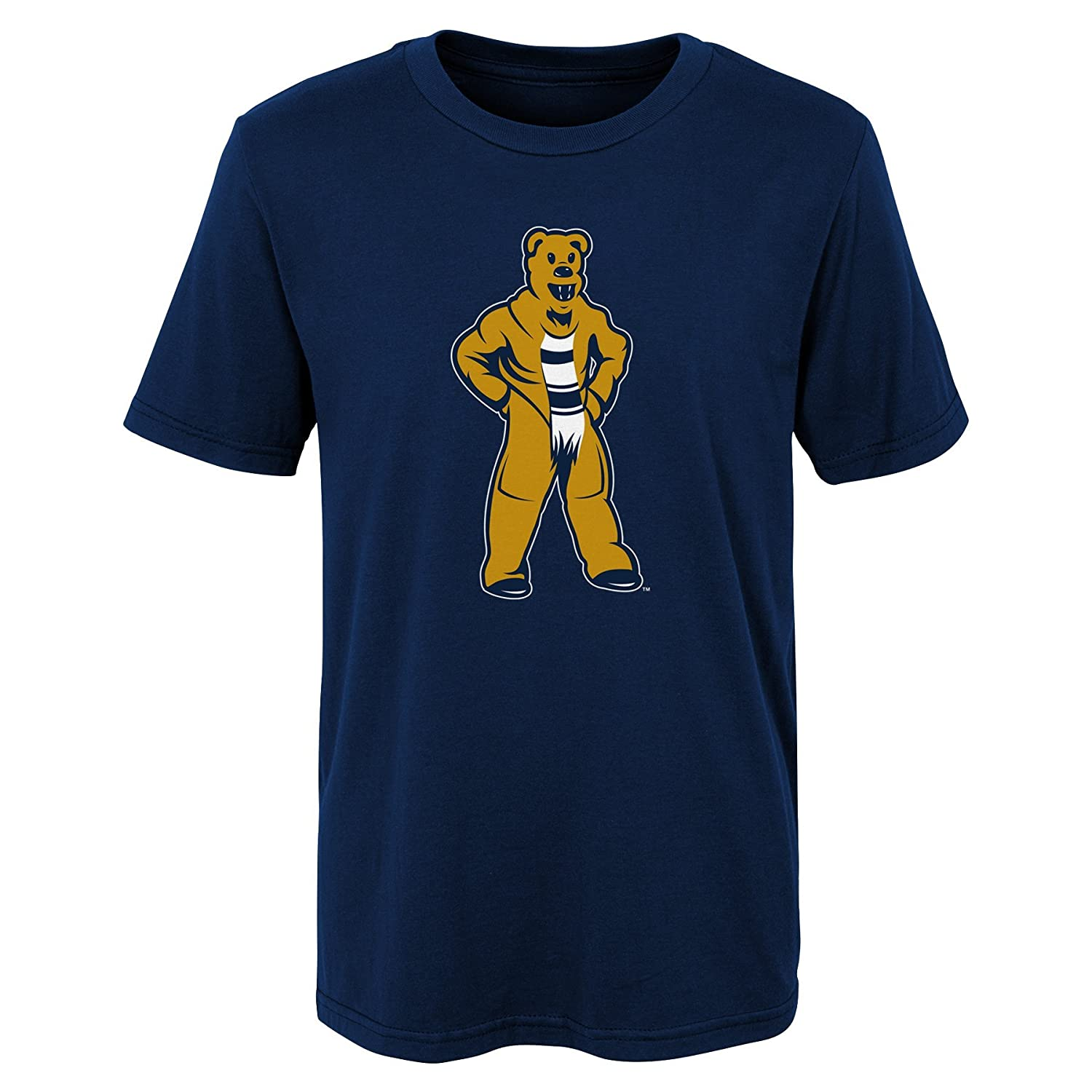 Navy Kids Large 7 Outerstuff NCAA Penn State Nittany Lions Kids Standing Mascot Tee