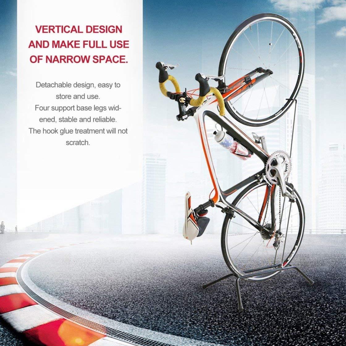 Laurelmartina Ruedas para Arriba Rack de Bicicleta Plegable de aleación de Aluminio Rack de Parada para Bicicletas Plegable: Amazon.es: Deportes y aire ...