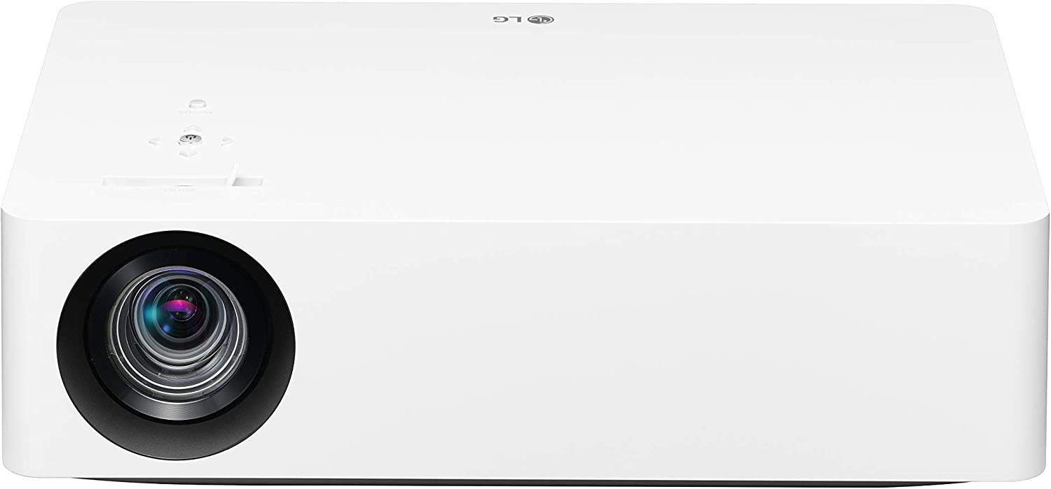 LG HU70LA 4K UHD Smart Home Theater CineBeam Projector with Alexa Built-in, LG ThinQ AI, Google Assistant, and LG webOS Lite Smart TV (Netflix, and VUDU) (Renewed)