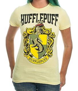 4387d6ad75c0 Amazon.com: Harry Potter Gryffindor Crest Bold Girl Juniors T-Shirt ...