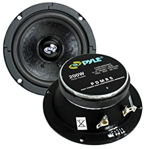 "2) PYLE Pro PDMR5 5"" 400W Car DJ/Home Mid Bass MidRange Speakers Drivers Audio"