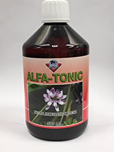 Alfa Tonic - General Tonic for Digestive System, Liver, Immune System & Blood Builder for Children & Adult 17 Fl Oz