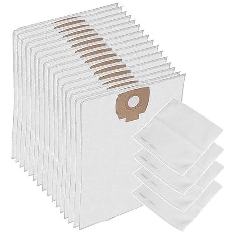 Amazon.com: SPARES2GO Wet & Dry Cloth bolsas de filtro para ...