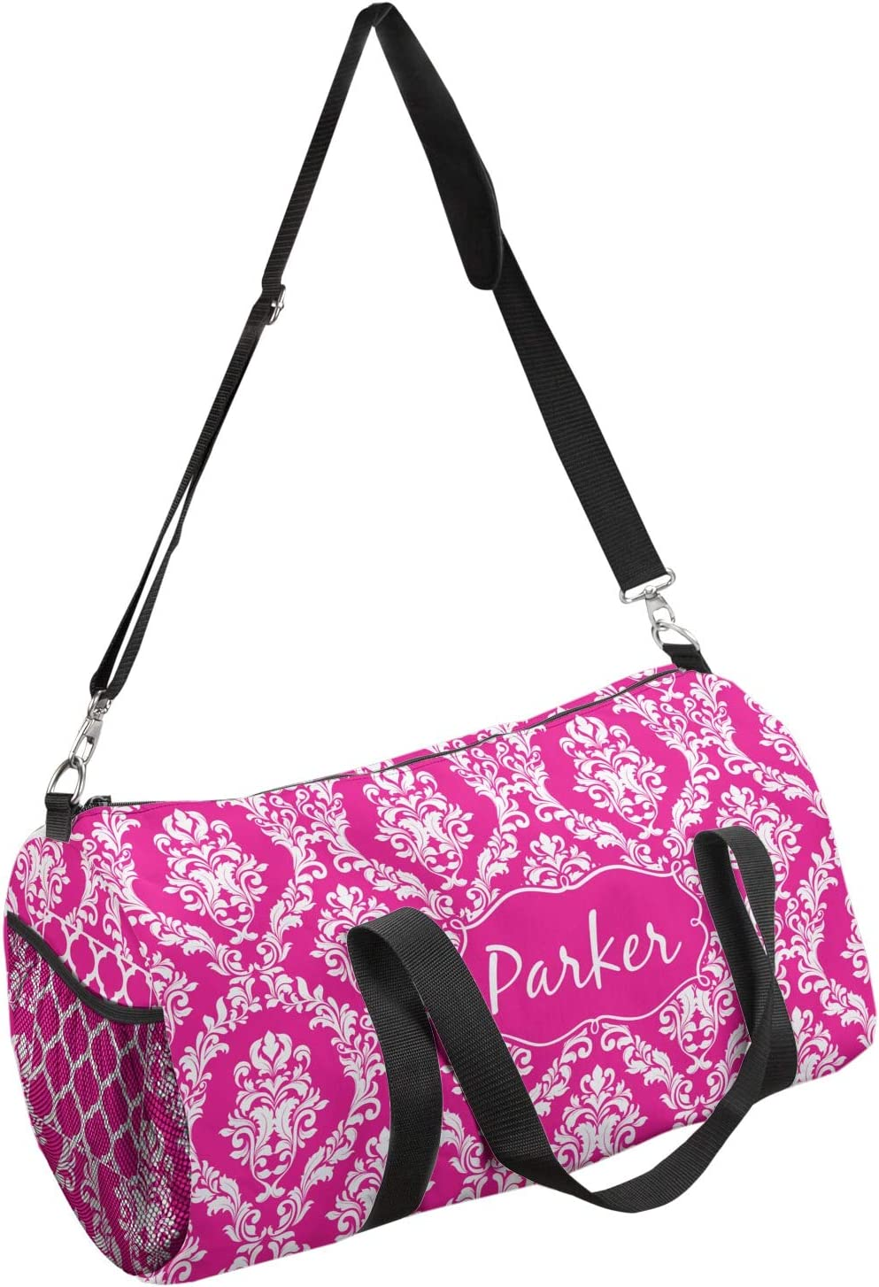 YouCustomizeIt Moroccan /& Damask Duffel Bag Personalized