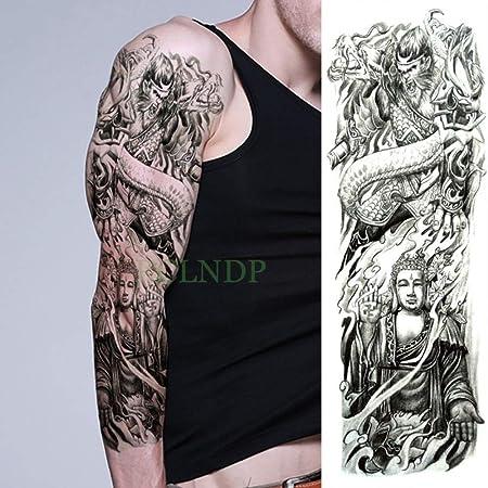ljmljm 3 Piezas Etiqueta engomada del Tatuaje a Prueba de Agua ...