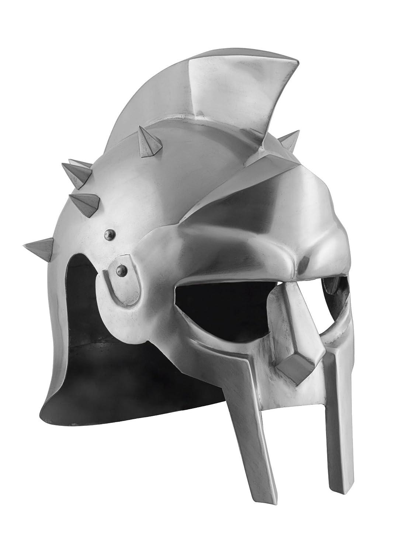 Gladiator Casco Maximus con piel Inlay con Picas–Gladiator–Spartakus Battle Merchant
