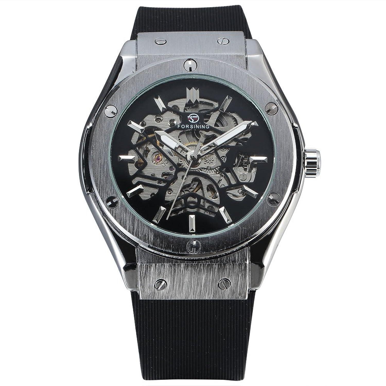 FORSININGメンズDaily防水自動機械腕時計 2# B071VJCNZN2#
