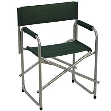 pack sillas plegable director color verde