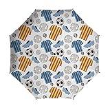 Travel Umbrella,Soccer,8 Ribs Finest Windproof
