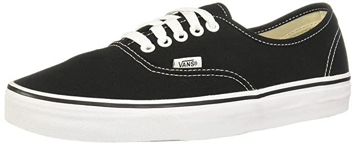 Vans AUTHENTIC, Unisex-Erwachsene Sneakers, Schwarz/Weiß