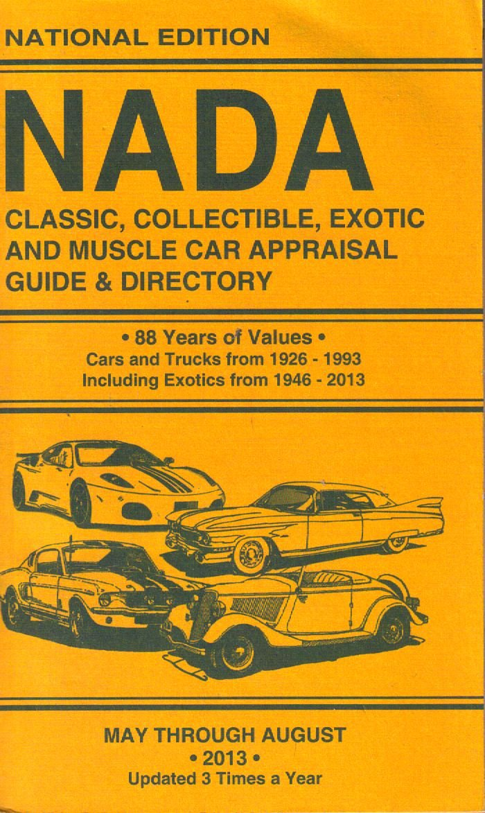 Nada Classic Car Value >> Nada Classic Collectible Exotic And Muscle Car Appraisal