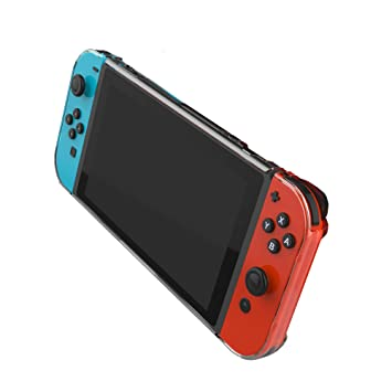 Amazon Com Hard Shell Case For Nintendo Switch Transparent Clear