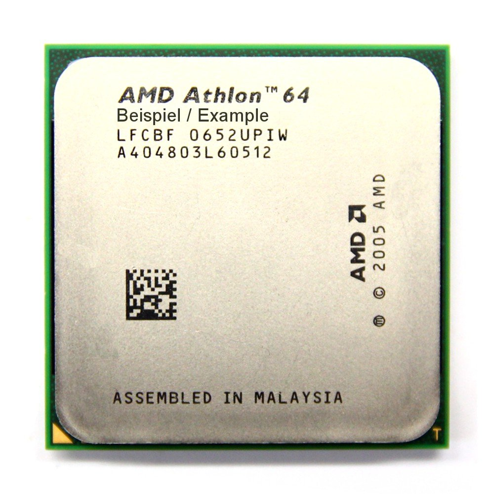 AMD Athlon 64 X2 5000 2.6GHz//1MB Sockel//Socket AM2 ADA5000IAA5CS Processor CPU General/überholt