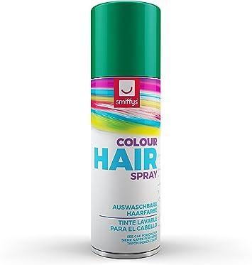 SmiffyS 052Gn Spray De Color Para Pelo, Verde