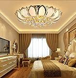 KALRI Luxury Crystal Indoor Chandeliers, Modern