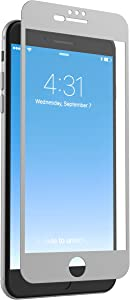 ZAGG InvisibleShield Glass + Luxe Screen Protector for Apple iPhone 7 Plus, iPhone 6s Plus, iPhone 6 Plus – Titanium