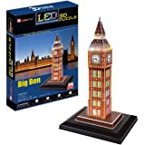 CubicFun Big Ben London UK 3D LED Puzzle