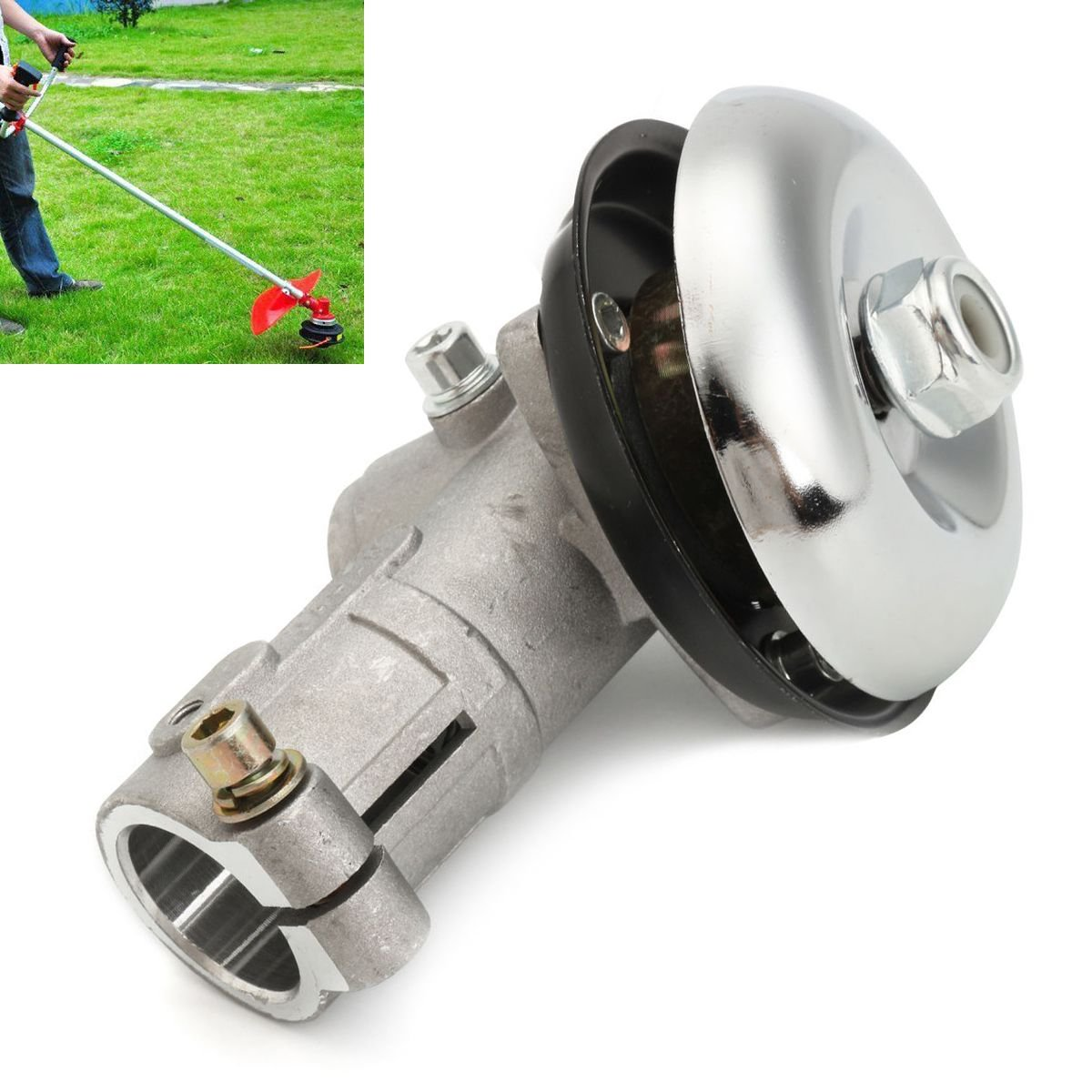 ERTIANANG Mayitr 26mm 7 Tooth Splin Gearhead Gearbox for Trimmer Strimmer Brush Cutter Lawnmower Garden Tools