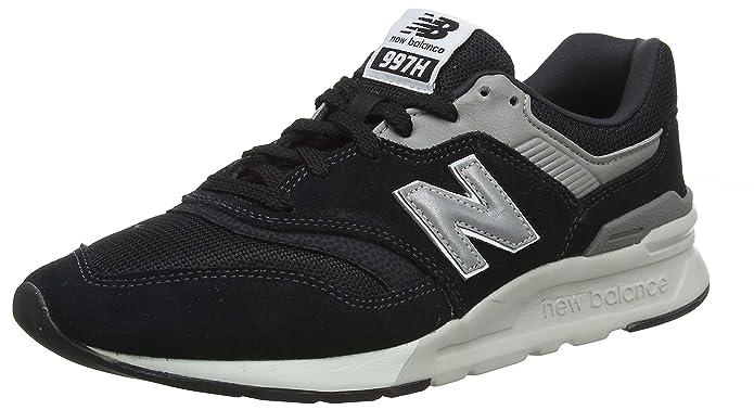 New Balance 997H Core Sneaker Herren Schwarz/Silber/Grau (Black/Silver Charcoal)