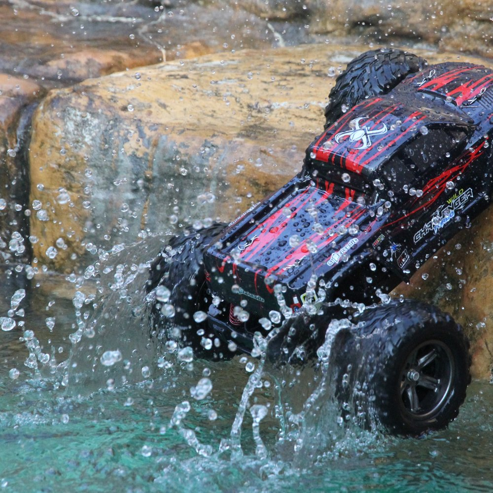 GPTOYS RC Truck 33+MPH 1//12 Scale RC Truck 2.4Ghz 2WD High Speed Electric Remote Controlled Car(3rd Version)