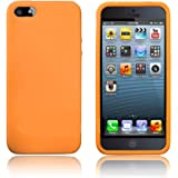JSG Accessories® ORANGE SOFT SILICONE CASE COVER FOR IPHONE 6
