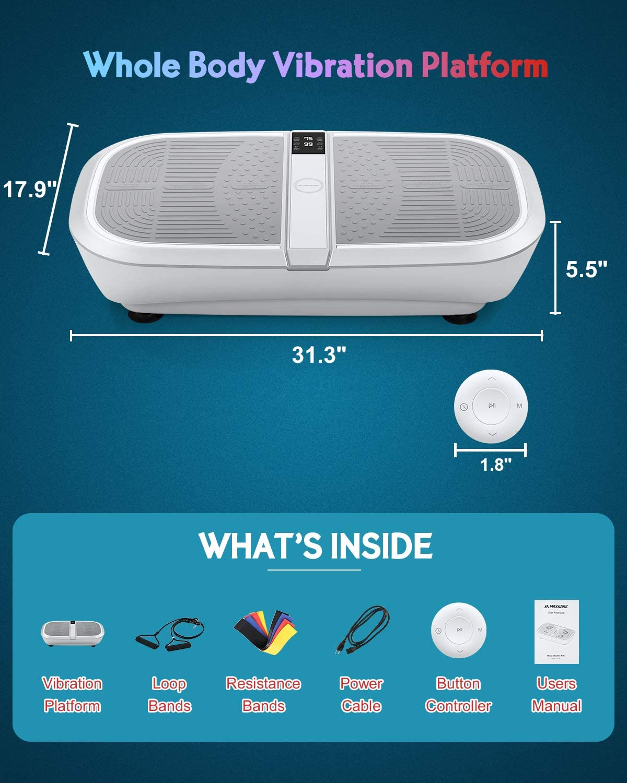 MaxKare 3D Vibration Plate