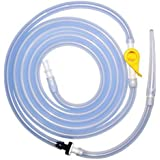 Premium Enema™ Replacement Silicone Enema Hose with Stopcock Tap, Non-Return Valve and Flexible Tip (1)