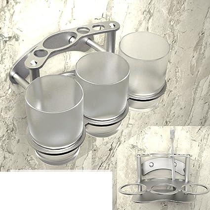 Portavasos de aluminio espacio diente cups/porta vasos/creativo equipo dental rack