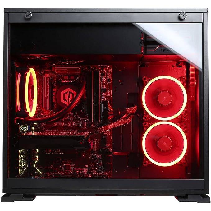 CYBERPOWERPC BattleBox Essential GLC5000CPG Gaming PC (Intel i7-8700K 3.7GHz, 16GB DDR4, NVIDIA GeForce GTX 1060 6GB, 120GB SSD, 2TB HDD, WiFi & Win10 ...