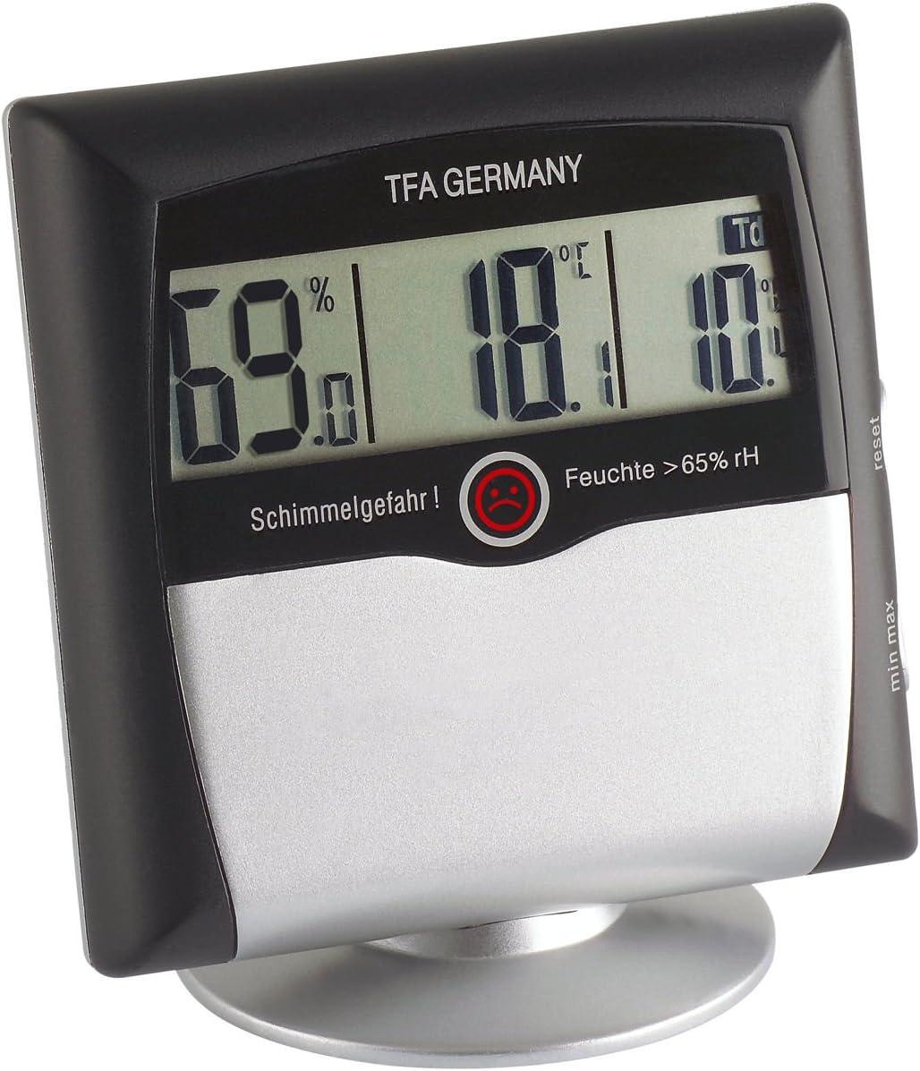 TFA 305011 Comfort Control Term/ómetro hidr/ógrafo digital