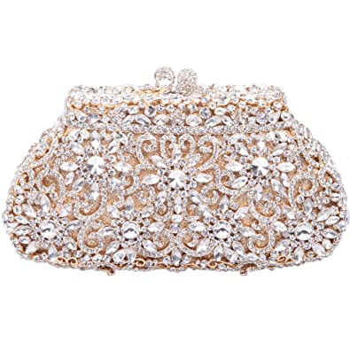 Amazon.com: Fawziya SunFlower Purses For Women Luxury Rhinestone ...