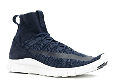 sports shoes 15c3d 00e9a Nike HTM Free Mercurial Superfly SP 667978-441 Dark Obsidian White Men s  Shoes (
