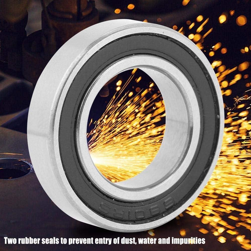 KSTE Roulement 6801 10pcs 6801-2RS caoutchouc /étanche gorge profonde roulements /à billes 12mm 21mm 5 mm