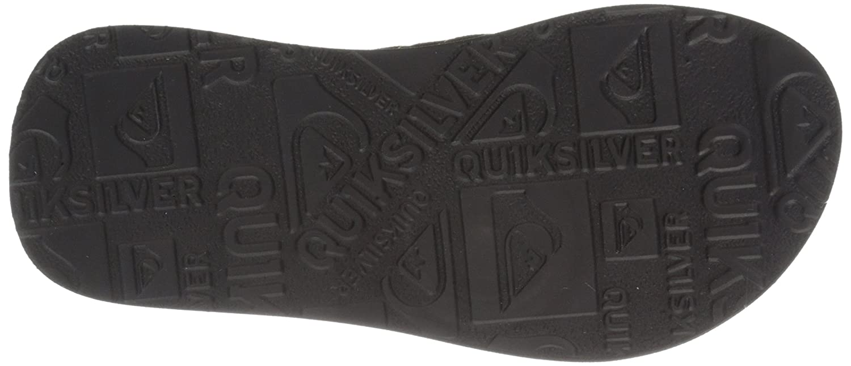 Amazon.com | Quiksilver Carver Suede Youth Flip-Flop (Toddler/Little Kid/Big  Kid) | Sandals