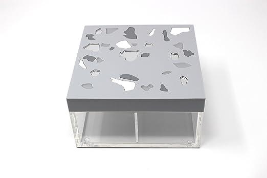 Terrazo caja – gris: Amazon.es: Hogar