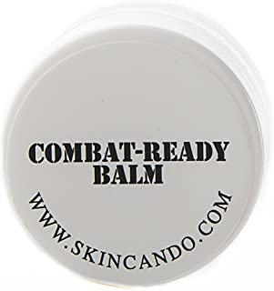 product image for Combat Ready Skin Balm 0.125oz by Skincando – All Natural - Intensive Moisturizer – Skin Cream - Organic ingredients – Apricot Kernel Oil – Grapefruit Seed Extract – Black Spruce - Black Tea Moisturizer