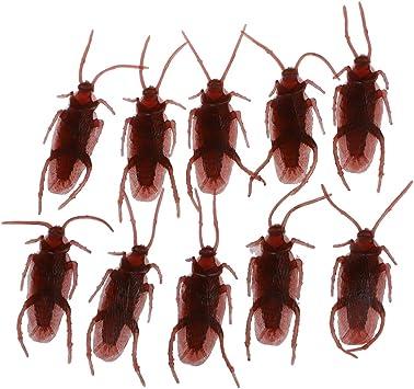 SODIAL(R) 10 Cucarachas Falsas Juguete de Truco Broma: Amazon.es ...