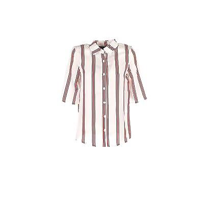 ANONYME Camicia Donna Bianco R278st075 Primavera Estate 2018