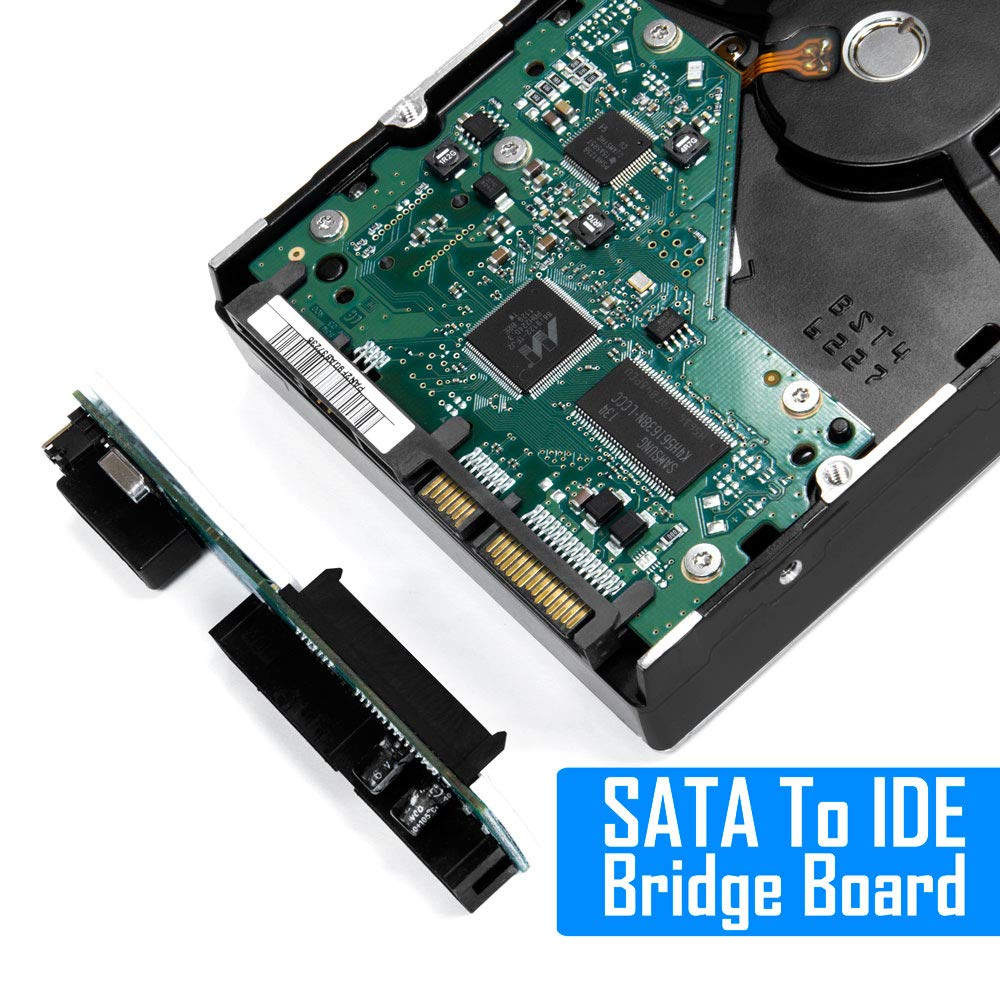 Kingwin SSD/SATA to IDE Bridge Board Adapter, Convert All SATA Devices Easily to IDE.  Support 2.5 Inch, 3.5 Inch HDD, & Compatible w/ SATA I/II/III Hard Drives by Kingwin (Image #3)