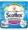 Scottex Pulito Completo Carta Igienica Salvaspazio, 16 Rotoli Maxi