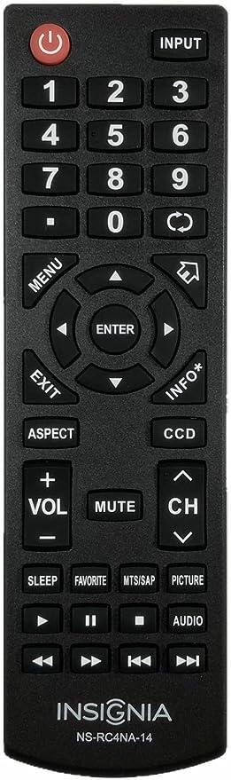 Insignia - Mando a Distancia para televisor Insignia LCD LED NS ...