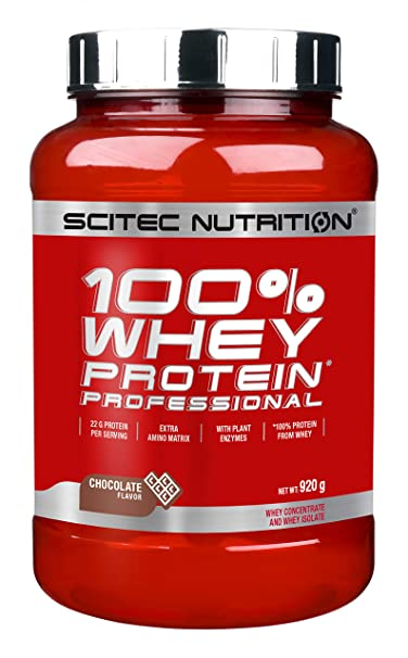 Scitec Nutrition Whey Protein Professional proteína chocolate 920 g