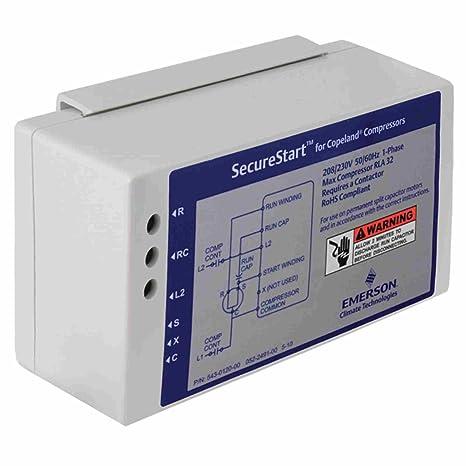 543-0120-00 Copeland SecureStart Compressor Start Module