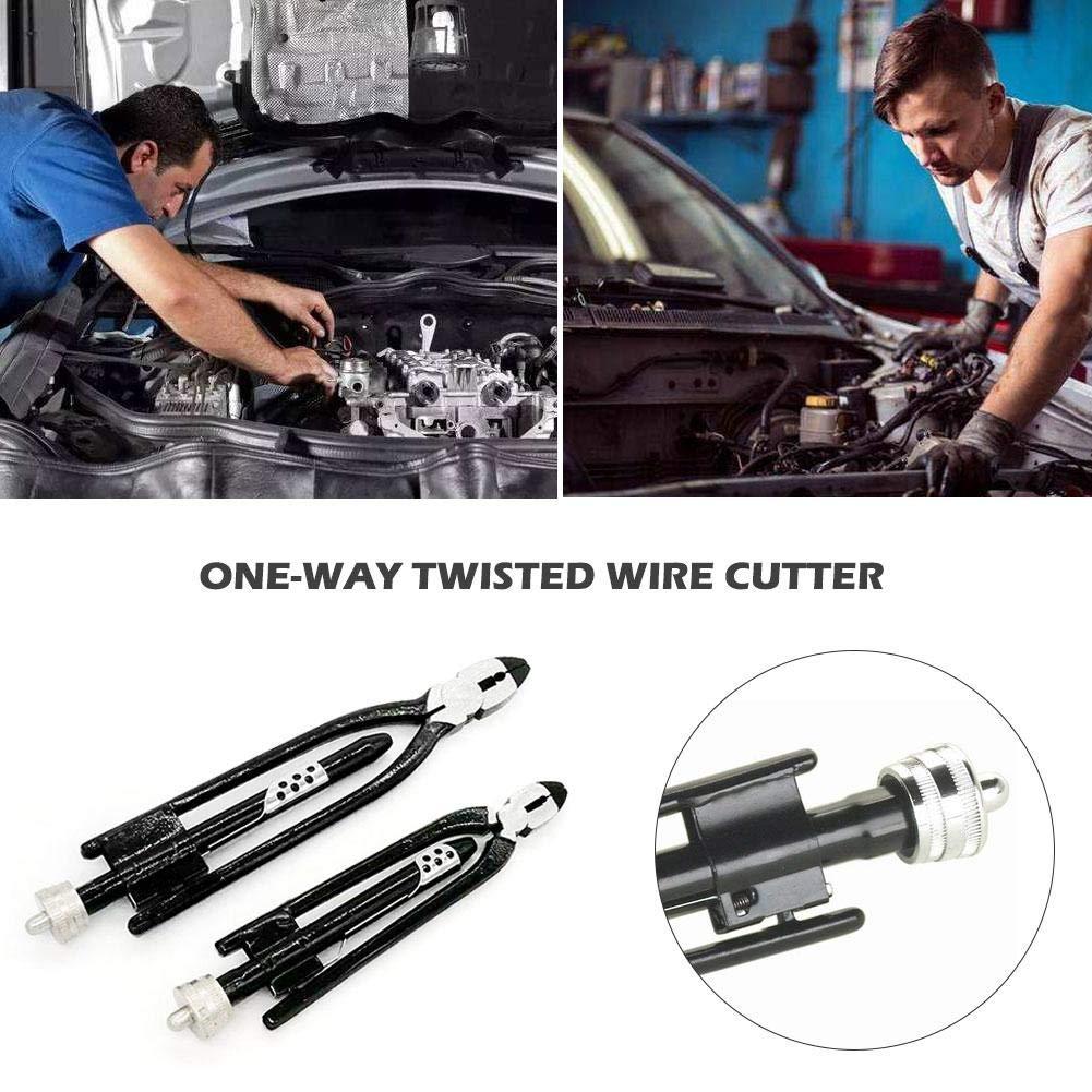 Leiyini Twister Lock Zangen Werkzeugset Aircraft Safety Wire Twisting Zangen Set Twist Twister Elektrische One-Way-Twisted-Drahtschneider 6 Zoll 9 Zoll