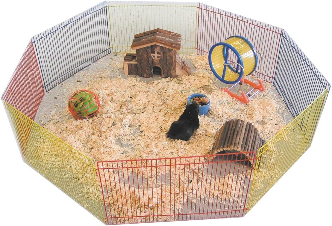 Nobby Parque de Juego 8 Lados para hámster, 91cm de diámetro