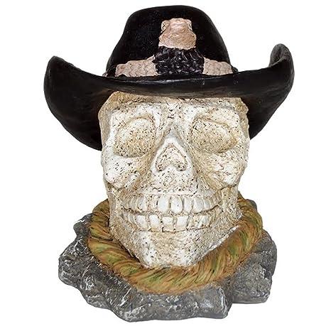 a37dd0ffb57 Amazon.com : Homestyles - Life's A Beach - Cowboy Skull with Rattle ...