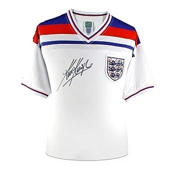 exclusivememorabilia.com Camiseta de fútbol de Inglaterra firmada por Kevin Keegan