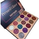 VOOCHY Glitter Diamond Rainbow Eyeshadow Palette Glitters Eye Shadow Magnet Pallete Make Up Cosmetic